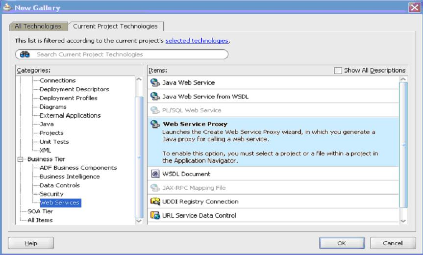 Attaching OWSM policies to JRF-based web services clients