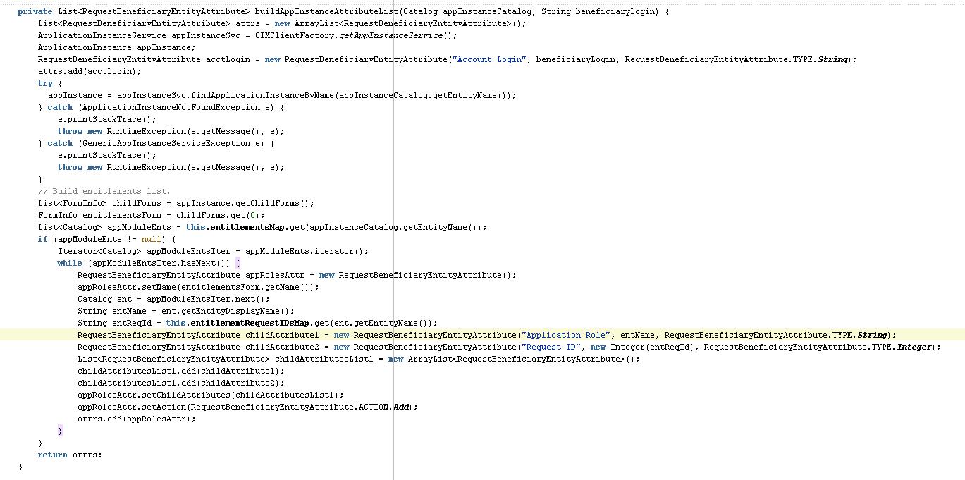 OIM 11g R2 Requests Lifecycle Management API's | A-Team