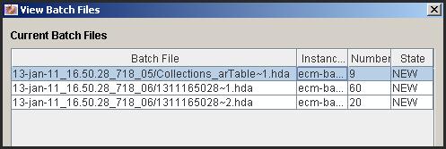 View batch files