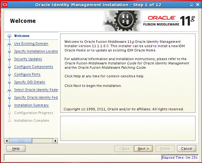 Adding Oracle Identity Federation to an Existing Fusion Applications