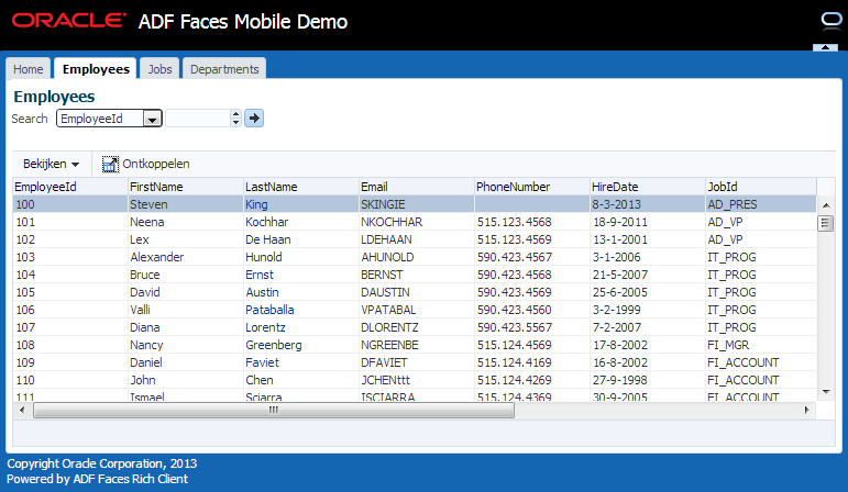 Going Mobile with ADF - Running ADF Faces on Mobile Phones and