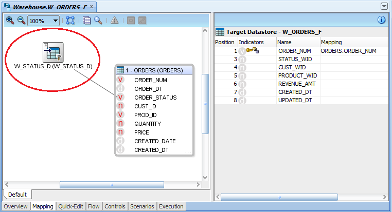Fact Interface - Adding A Lookup - Step 4