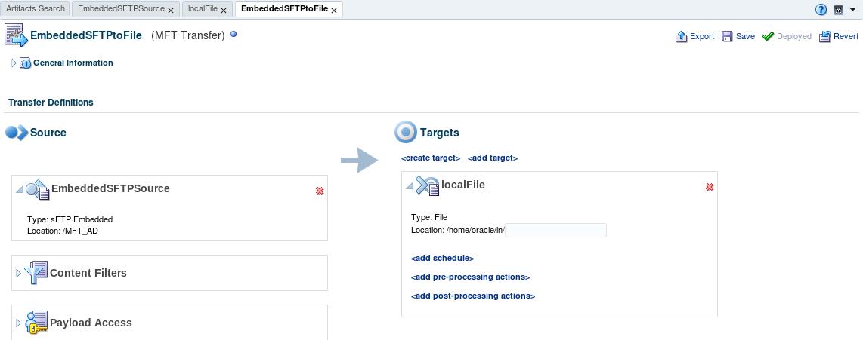 MFT - Setting up SFTP Transfers using Key-based