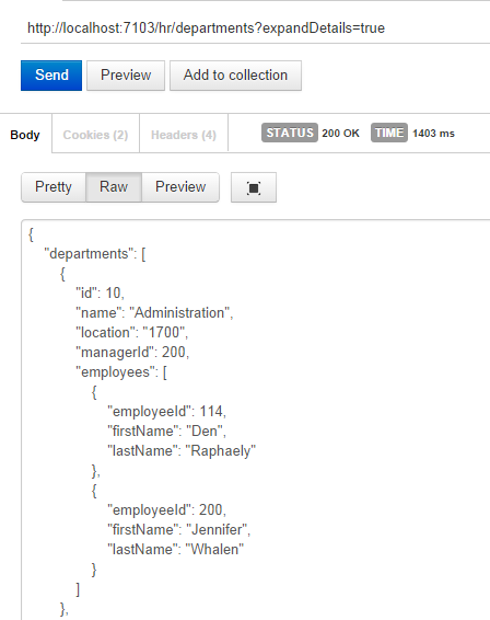 Creating a Mobile-Optimized REST API Using Oracle Service
