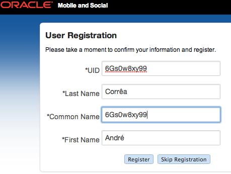 LinkedIn User Registration in M&S