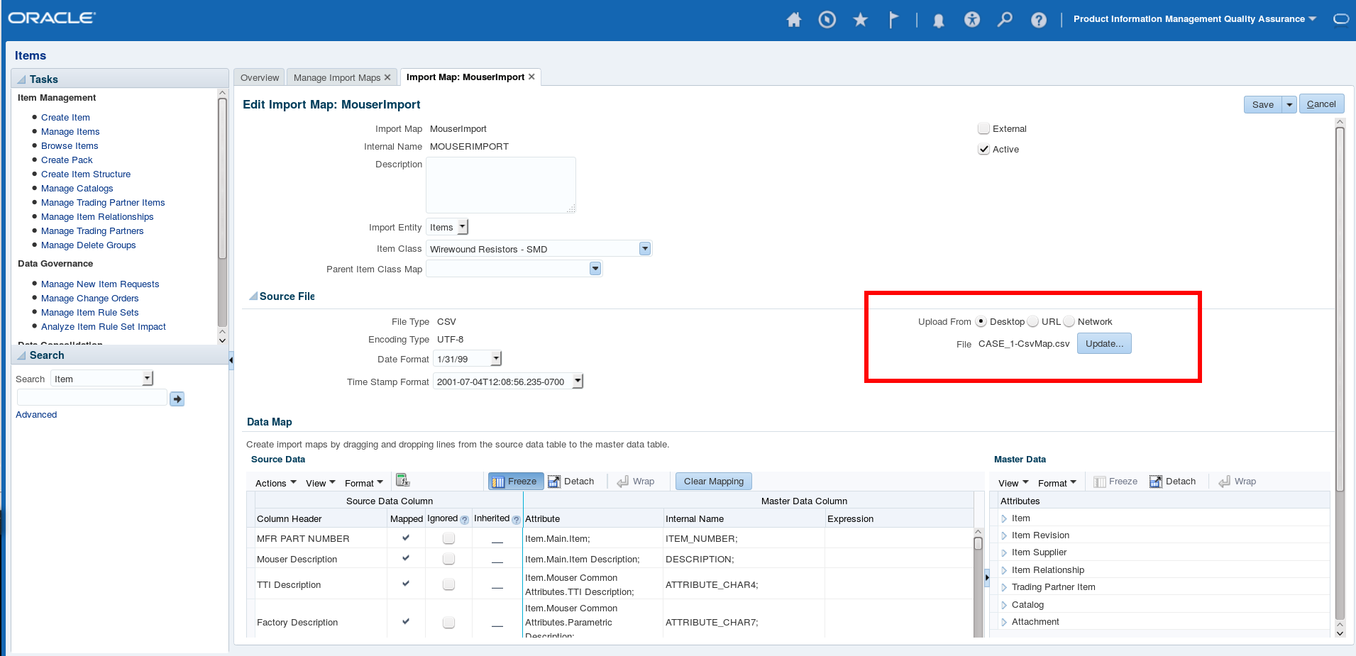 Using File Based Loader for Fusion Product Hub | A-Team