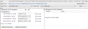 REST call from http analyzer