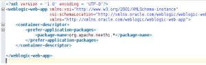 weblogic.xml prefer application