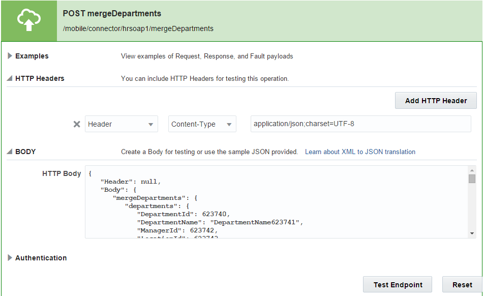 Creating a Mobile-Optimized REST API Using Oracle Mobile Cloud