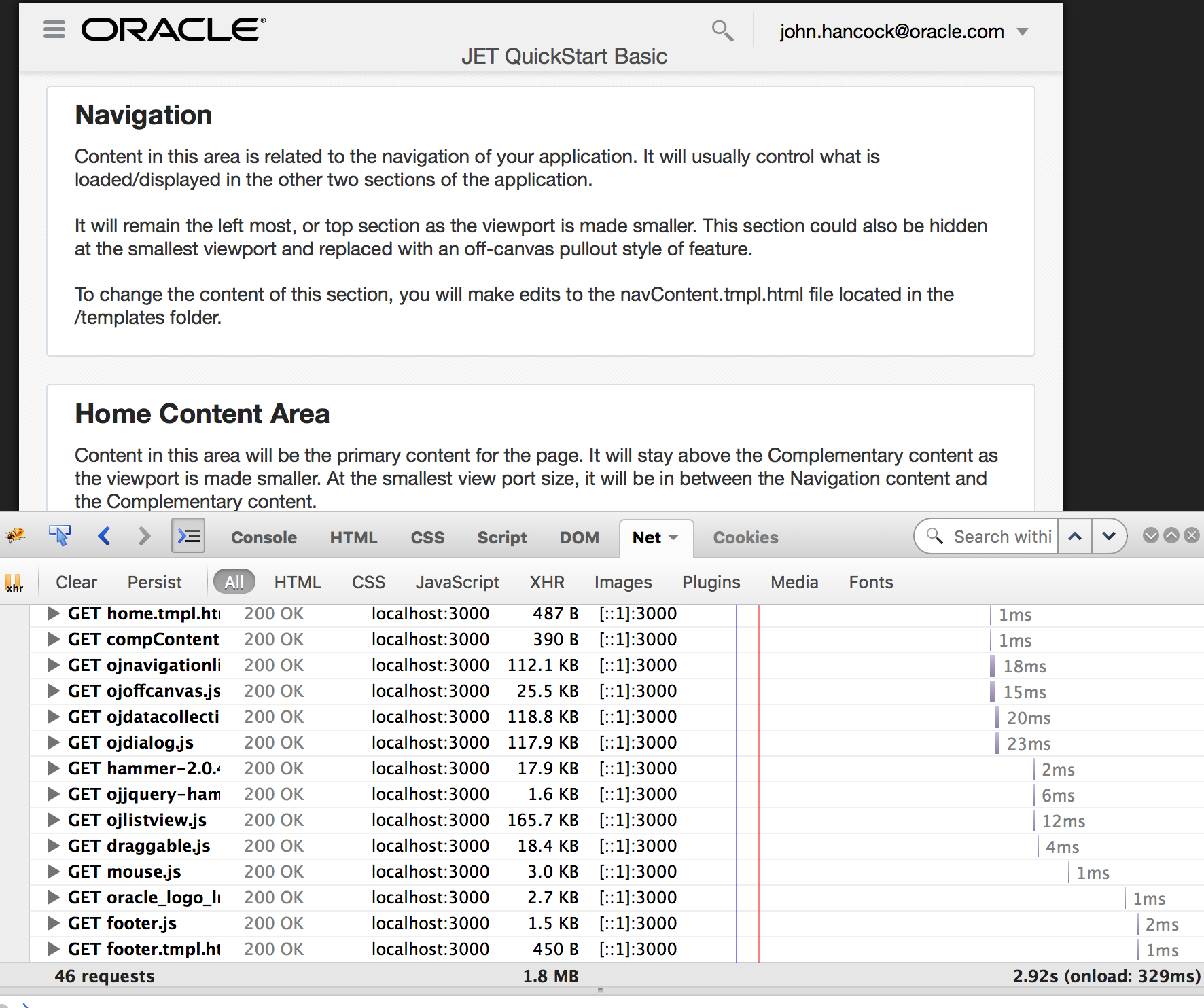 Optimize Oracle JET | A-Team Chronicles