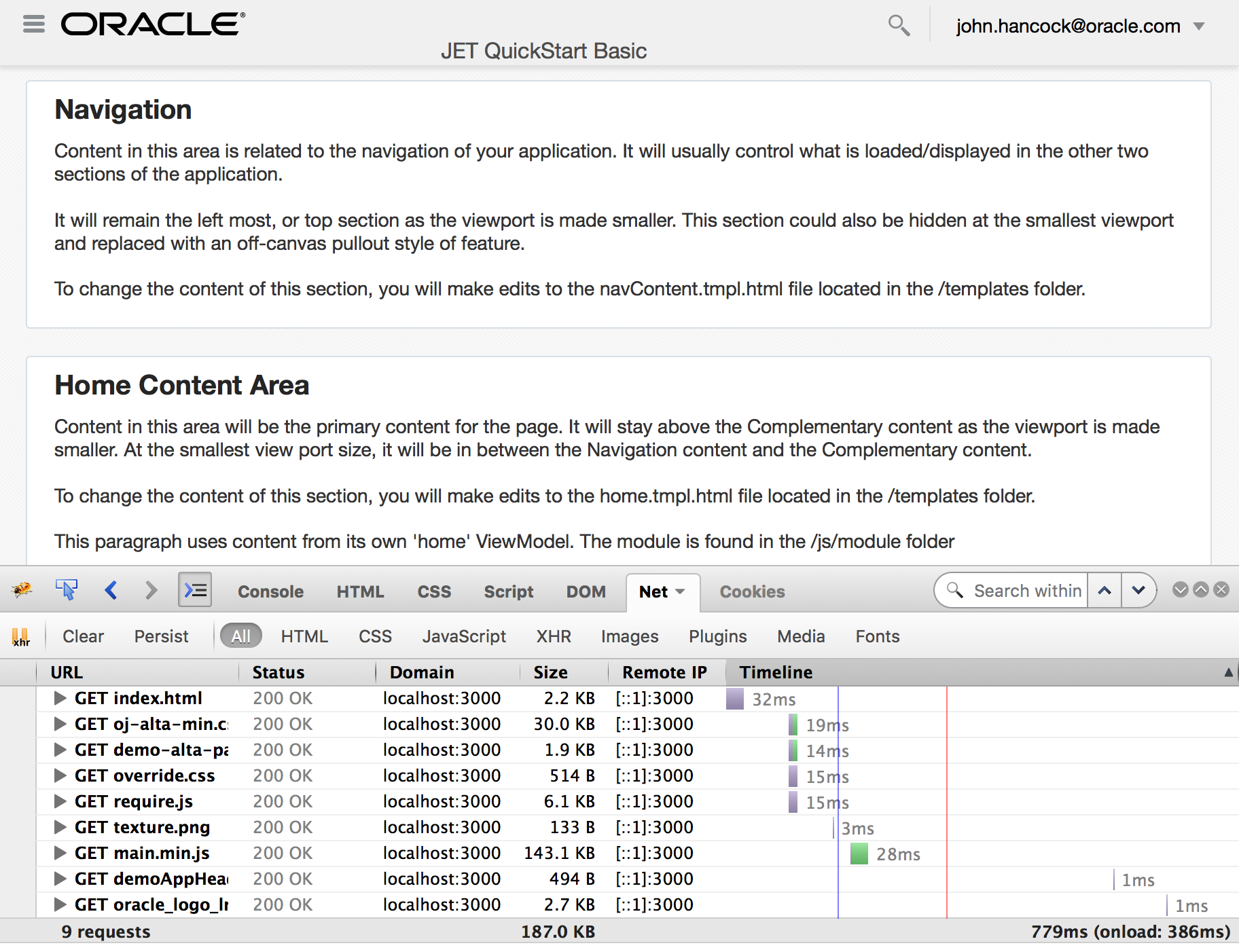 Optimize Oracle JET - Continue   A-Team Chronicles