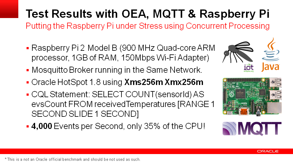 Intelligent Devices with Oracle Edge Analytics & MQTT | A-Team