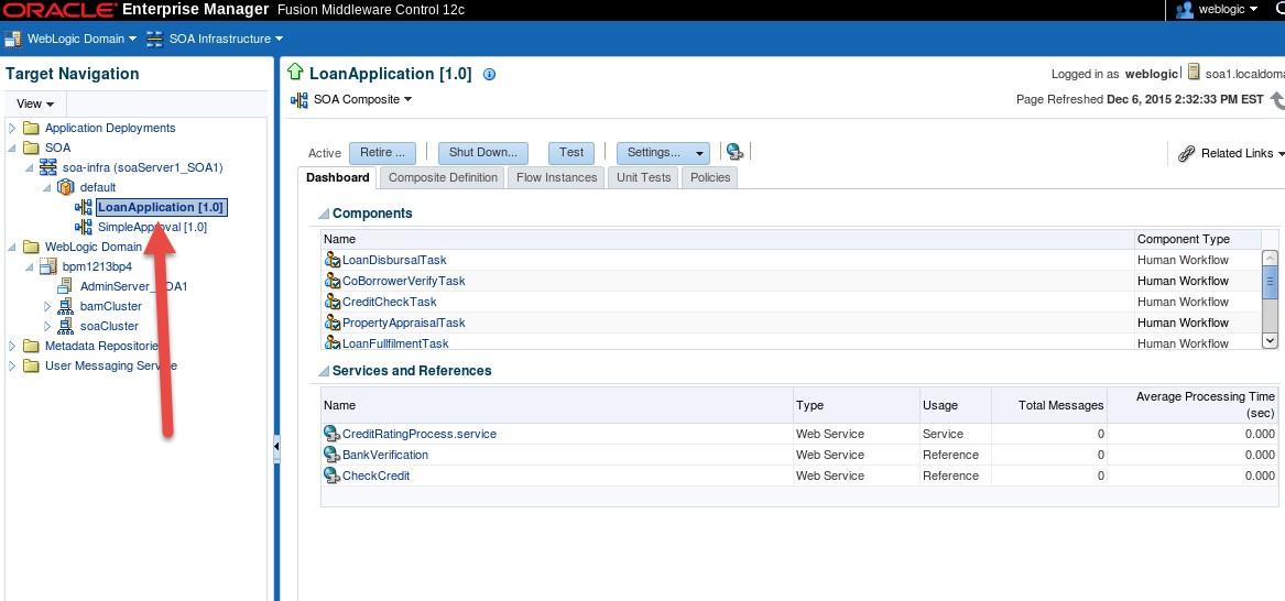 BPM and BAM Multi Domain - Deploy1