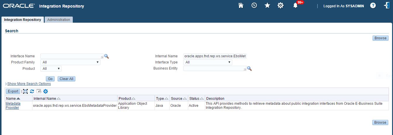 ISG-Metadata-Provider