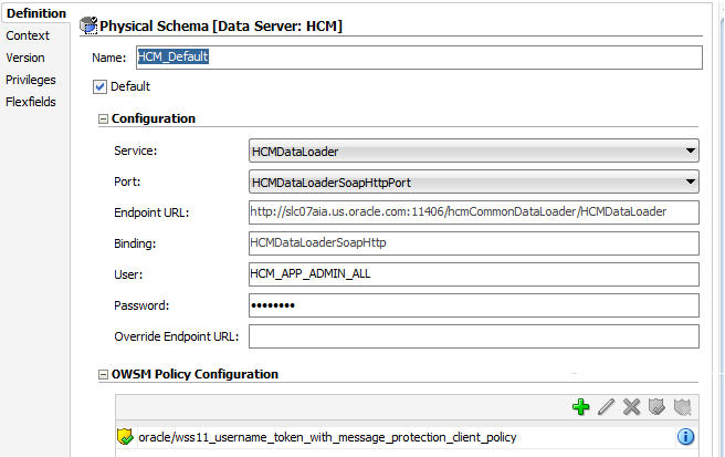 Policies in Web Services