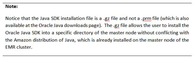 Installing Oracle Data Integrator (ODI) on Amazon Elastic MapReduce