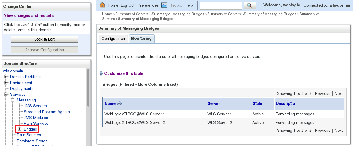 Forwarding Messages from WebLogic to TIBCO EMS | A-Team Chronicles