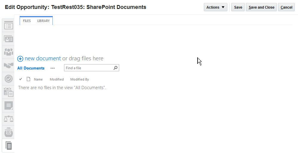 Integrating Microsoft SharePoint Document Management with Oracle