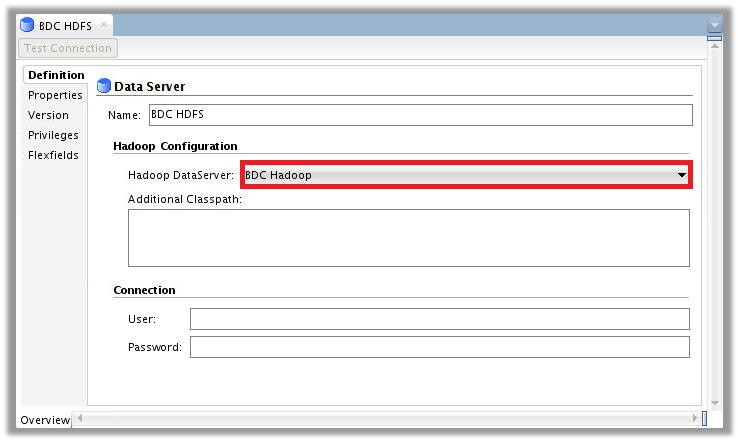 Figure 6 – ODI Topology for Big Data Cloud – HDFS Data Server