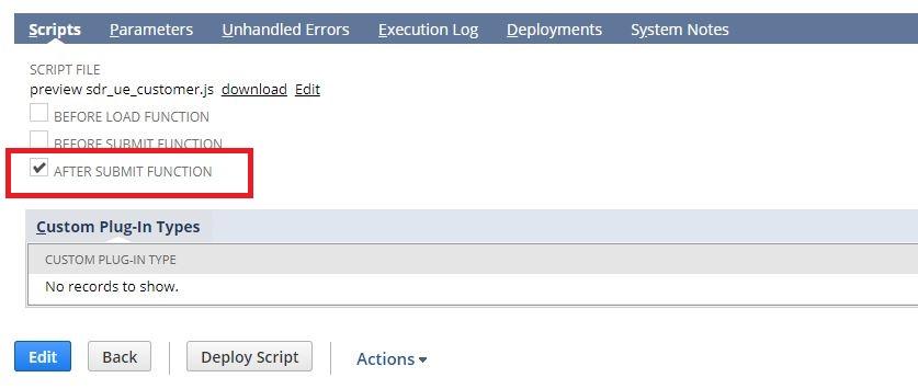 NetSuite Integration Series: Part 1: Using User Event