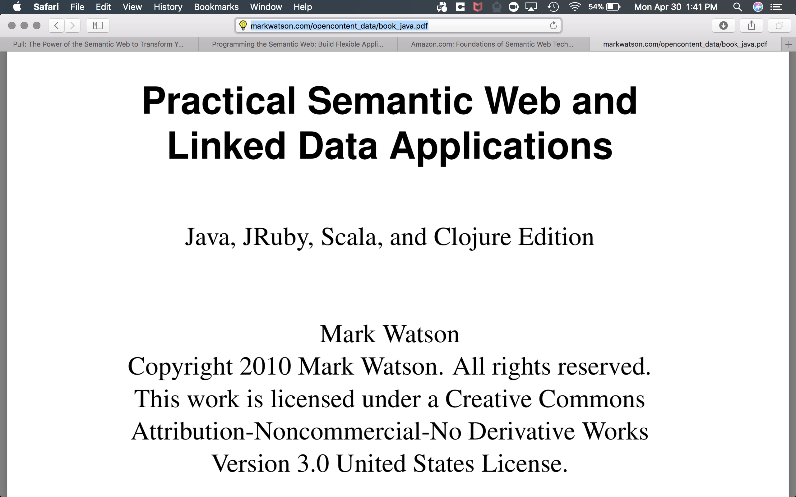 Resources for learning RDF Semantic Graph (Part 1) | A-Team