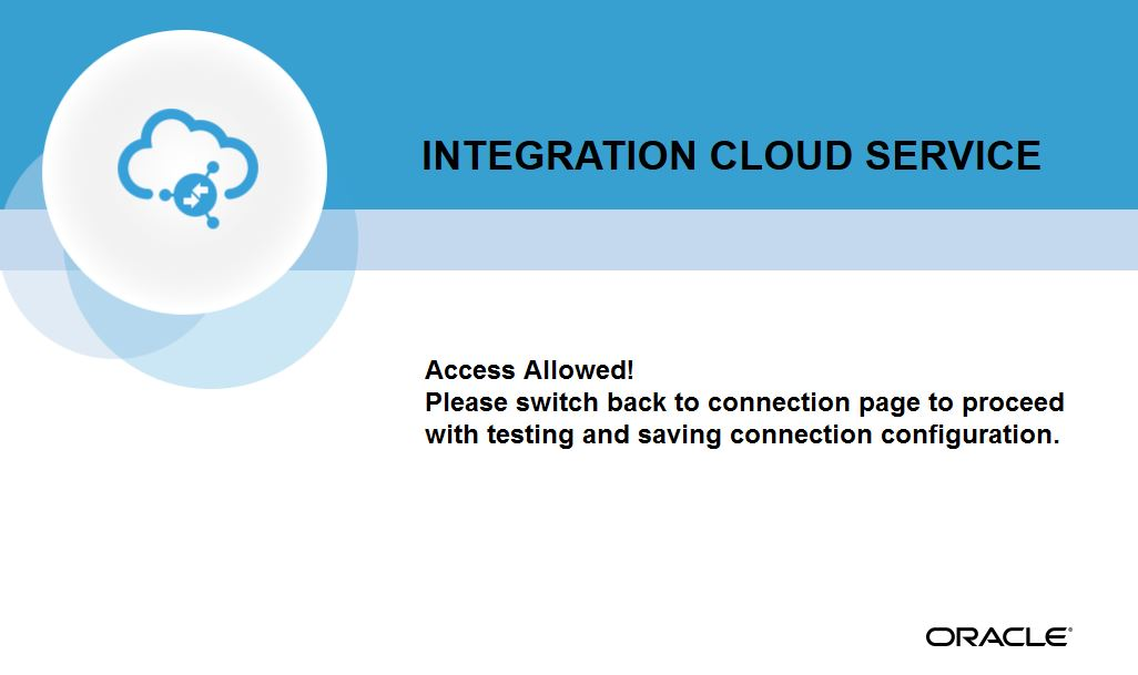 Online document signing using Oracle Integration Cloud and