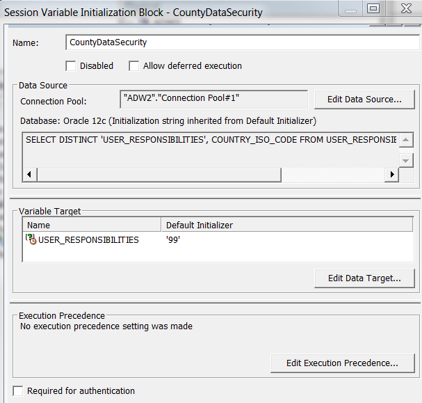 Implementing Data Level Security in Oracle Analytics Cloud