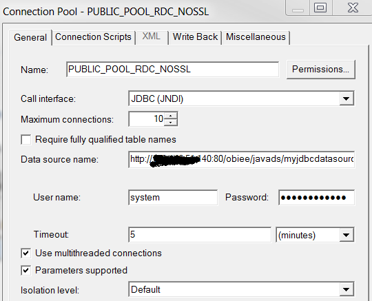 Deploying Oracle Remote Data Connector in Tomcat for Oracle