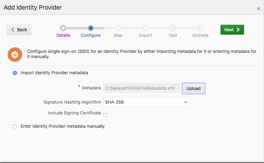 Integrating Okta as Identity Provider to IDCS | A-Team Chronicles