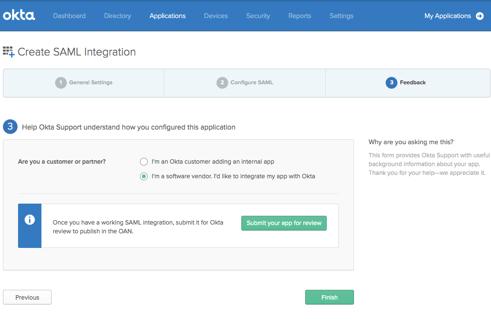 Integrating Okta as Identity Provider to IDCS | A-Team