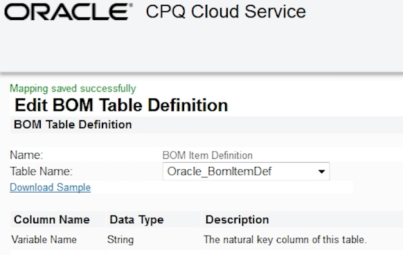 Terrific How To Configure Bom Mapping In Cpq A Team Chronicles Download Free Architecture Designs Intelgarnamadebymaigaardcom