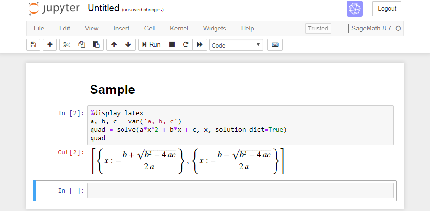 Deploying Applications on OCI, the SageMath Example - Part 1 Docker